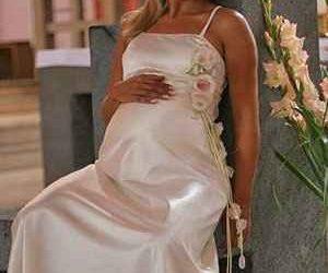 Kismama menyasszonyi ruha, kismama esküvői ruha