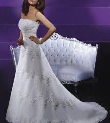 Esküvői ruha telt keblű menyasszonyoknak