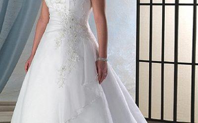 Esküvői ruha teltebb menyasszonyoknak – mi az ideális fazon?