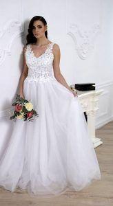 Tavasz ihlette esküvői ruha