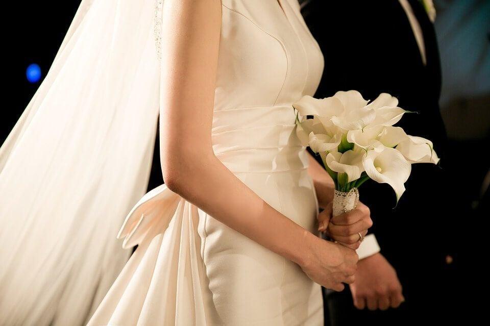 Menyasszonyi csokor, a legfontosabb percekben is gyönyörűen mutat