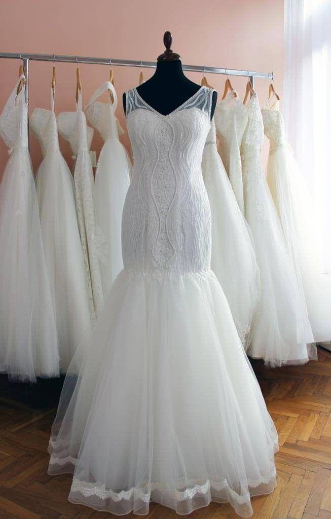 0333fc10c1 A sellő fazonú menyasszonyi ruha - kinek áll jól? - Júlia Esküvői ...