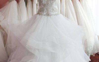 Az abroncsos menyasszonyi ruha