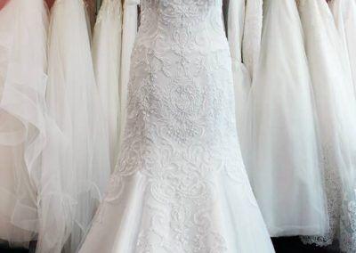1714ddabe1 A sellő fazonú menyasszonyi ruha - kinek áll jól? - Júlia Esküvői ...